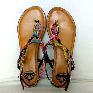 Fergalicious by Fergie flat sandals 7
